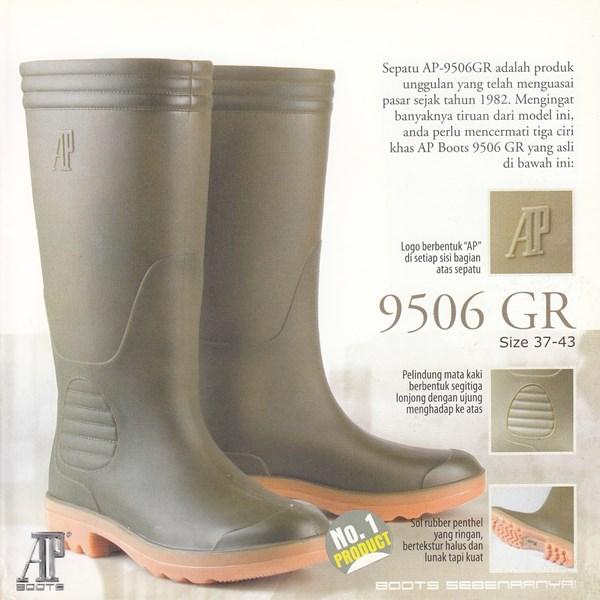 Sepatu Boots AP-9506 GR