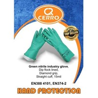 Sarung Tangan Safety Green Nitrile Cerro