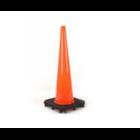 Jual Traffic Cone 911 Black Based 90cm 1