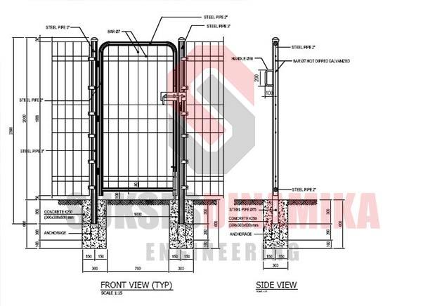 Sell Fence Brc Autocad Drawings From Indonesia By Cv