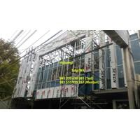 Aluminium Composite Panel Installation in Indonesia