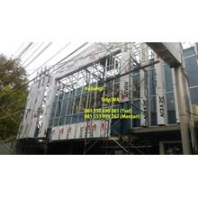 Pemasangan Aluminium Composite Panel ACP Murah Ber
