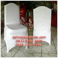 Sarung Kursi Futura Press putih Polos