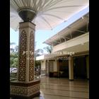 Tenda Membrane Masjid Model Corner 3