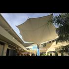 Tenda Membrane Masjid Model Corner 1