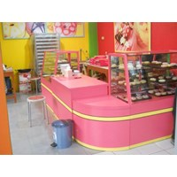 Rak Etalase Makanan - Semarang