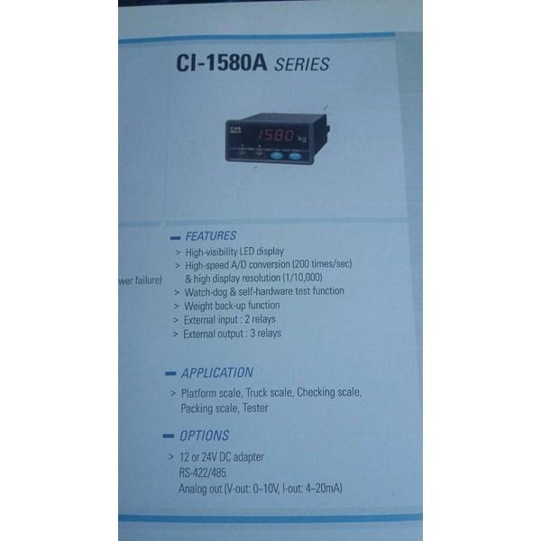 INDIKATOR CAS CI - 1580 A