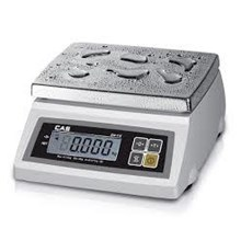 TABLE SCALES WATER PROOF Brand CAS COPYRIGHT INDO