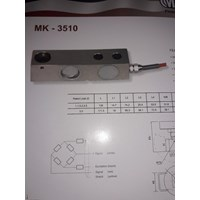 LOADCELL SHEARBEAM MK - 3510 MK - CELLS  1