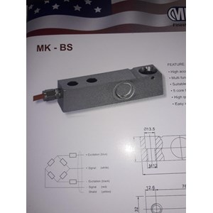 LOADCELL SHEARBEAM TYPE BS