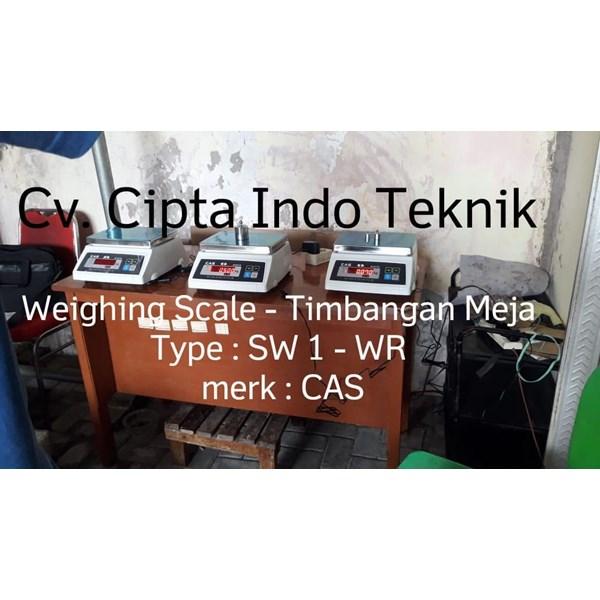 TIMBANGAN DIGITAL SW 1 - WR MERK CAS