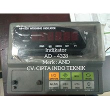 AND - AD 4328  INDIKATOR  TIMBANGAN
