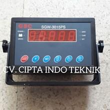 INDIKATOR TIMBANGAN  SGW 3015 PS MERK GSC