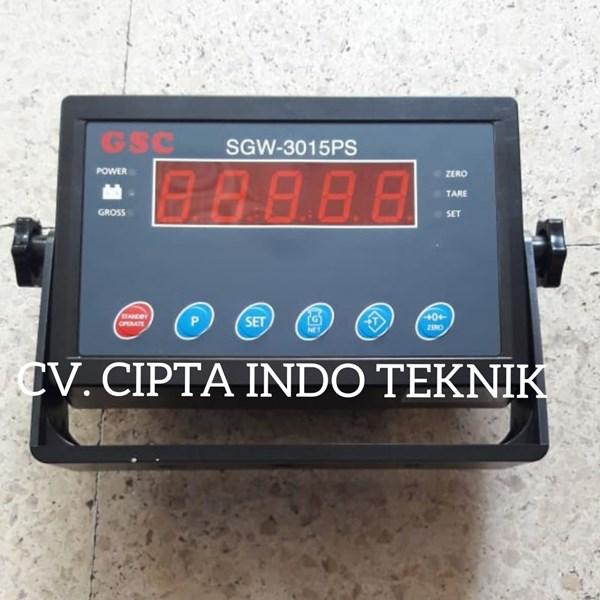SGW 3015 PS INDIKATOR TIMBANGAN  MERK GSC