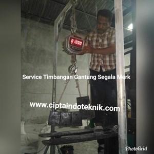SERVICE TIMBANGAN  GANTUNG