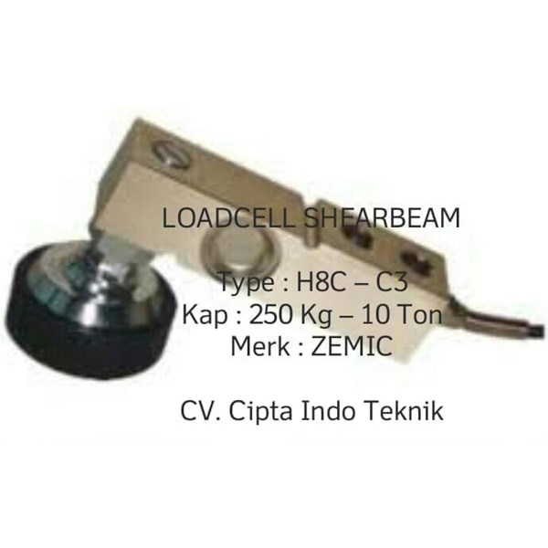 LOAD CELL   H8C - C3  MERK ZEMIC