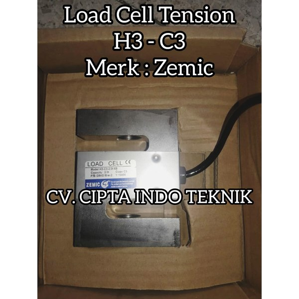 LOAD CELL   S  H3 - C3  MERK  ZEMIC