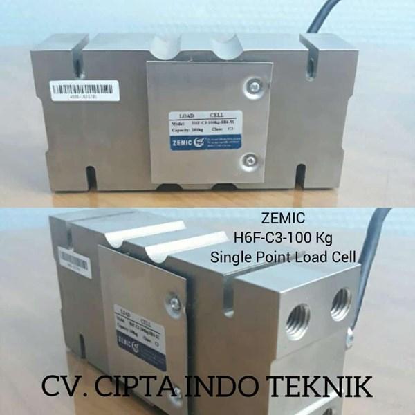 LOAD CELL  H6F  100  Kg  MERK   ZEMIC