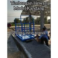 TIMBANGAN  HEWAN  DIGITAL  MODEL KANDANG