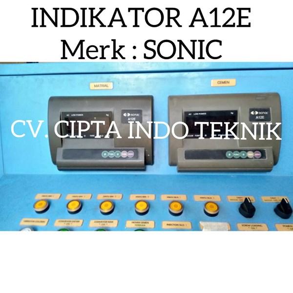 INDIKATOR  TIMBANGAN  A12E  MERK SONIC
