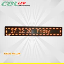 Running Text Yellow Collour ( Kuning)