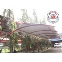 Tenda membrane Canopy Proyek Tangerang 1