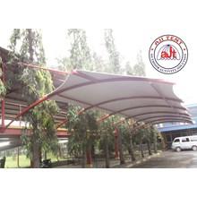Tenda membrane Canopy Proyek Tangerang