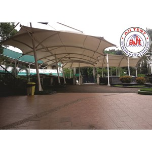 Tenda membrane Canopy Singapore International School