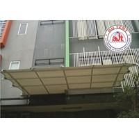 Tenda Membrane Canopy Ruko Manggarai 1
