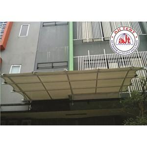 Tenda Membrane Canopy Ruko Manggarai