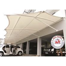 Tenda membrane Canopy Rumah lampung