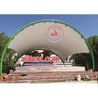 Jual Tenda Membran Amphiteater Panggung Area Proyek