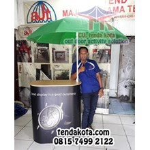 Tenda Payung Meja booth portable