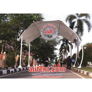 Dari Tenda Membran Gate Way-Chek Point 0