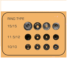 Snap Button Ring Type