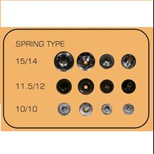 Snap Button Spring Type