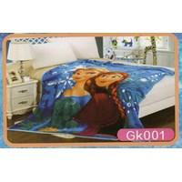 Selimut Blanket Frozen 1