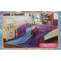 Selimut Blanket Ana dan Elsa Frozen 1