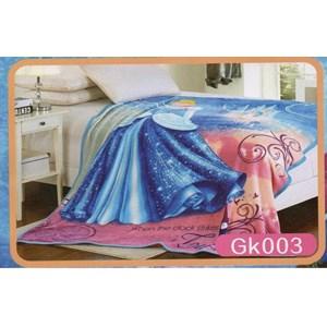 Selimut Blanket Barbie