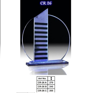 Plakat acrylic gedung CR26