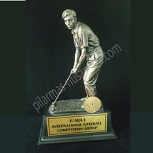 Piala Trophy Golf gate ball