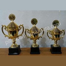 Piala trophy Logam kejuaraan