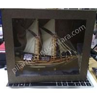Plakat perahu kayu 1