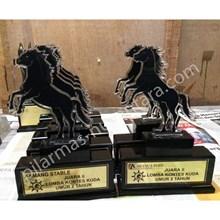 Plakat acrylic kuda