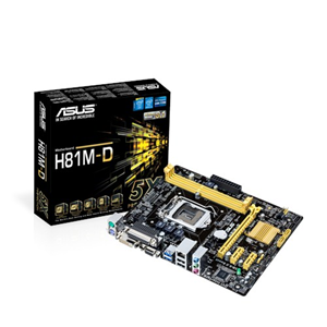 Motherboards Asus H81m-D Intel 1150
