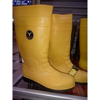 Sepatu Boot Safety Petrova Kuning 1