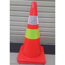 Traffic Cone Orange 70 Cm Base 911