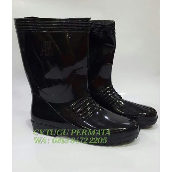 Sepatu Boot AP Black 1 Pendek