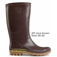 Sepatu Boot AP Orca Brown Coklat