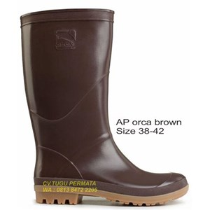 Jual Sepatu Boot AP Orca Brown Coklat Harga Murah Jakarta oleh CV ... 0d9ac59d42